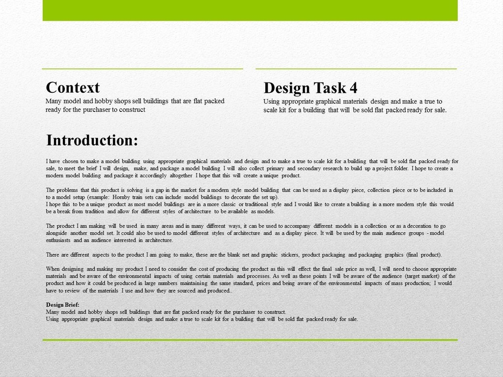 "product design essay Product design process there are various product design processes and they are all focused on different aspects the process shown below is ""the seven universal stages of creative problem-solving,"" outlined by don koberg and jim bagnell."